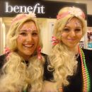Benefit Cosmetics Girls at Guildford House of Fraser!