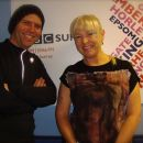With Nick Wallis after BBC Radio Surrey Interview, March 2012